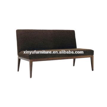 Modern velvet fabric two seater sofa XY3366