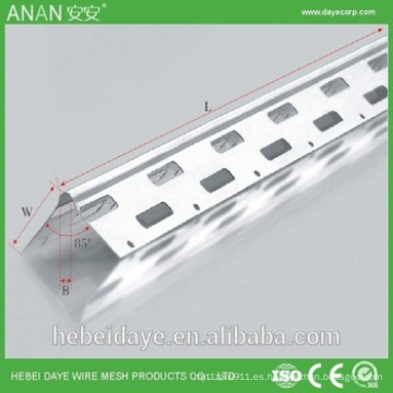 China galvanizado de fábrica de esquina esquina de metal para el hormigón