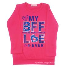 Spring Children Girl T-Shirt for Kids Clothes