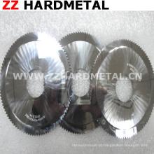 Espelho Lâmina de corte circular de carboneto de tungstênio polido