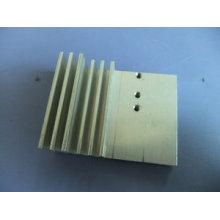 Radiador de aluminio de la maquinaria del CNC en precio barato Alta calidad