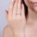 Природные пресной воды идеально круглую Жемчужину подлинная стерлингового серебра 925 плавающие подвески обручальное кольцо для женщин изящных ювелирных изделий