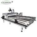High precision wood milling and cutting machine with rotary