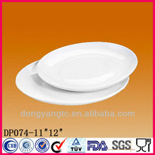 11 or 12 Inch porcelain dinner plate,wholesale dinner plates