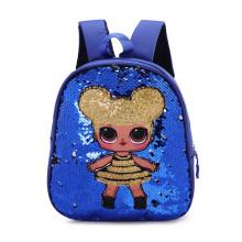 Small fashion mini sequin school backpack sequins backpacks bag set for girls