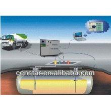 sonda e o controlador tanque atg-automático calibre na Índia