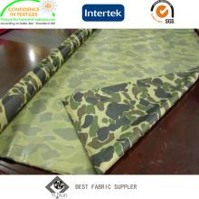 PVC revestido de tecido 100% poliéster Oxford 210D militar para capa de chuva