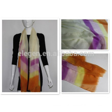 polyester stripe long big scarves