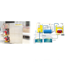 Car wash sewage treating systems