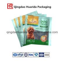 Bolsa de envasado de alimentos para mascotas resistente personalizado