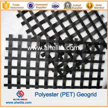 50kn Polyester Geogrid Coated with PVC