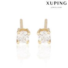 23550 Xuping vergoldet Ohrstecker für Frauen, Ohrringe für Frauen Khazana Schmuck
