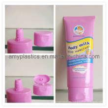Tubos ovales para la piel atención productos, tubo de 150ml con diseño Oval (45BG19/B4522)