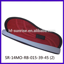 SR-14MO-RB-015-39-45 (2) rubber outsole for shoes casual shoes rubber sole men shoes rubber sole for shoe making