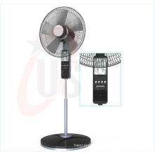 Ventilador recargable de 16 pulgadas y 12V, ventilador de música (USDC-464)