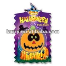 Хэллоуин тыква лицо краской