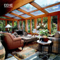Good quality sunroom parts/glass sunroom for Villa