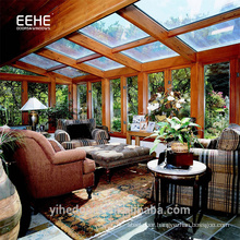 China Simple Design Living Room Glass House Garden