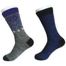 Medias almohadilla de moda mantener calientes calcetines de lana (jmwl02)