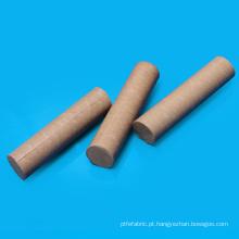 Vara plástica pura de PTFE do diâmetro de 10mm