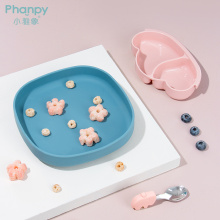 Kids Toddler Silicone Baby Suction Bowl Plate
