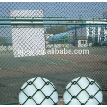 PVC coated diamond fence