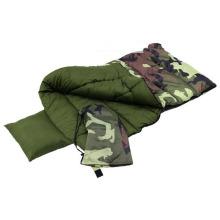 La maison extérieure des enfants pour des adultes camouflent le sac de couchage militaire de camouflage