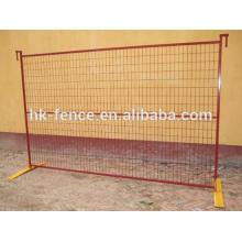 Panel de valla temporal de fabricación de Canadá / valla extraíble