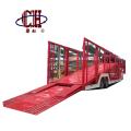 Remorque de transporteur de voiture semi-remorque de transporteur de voiture