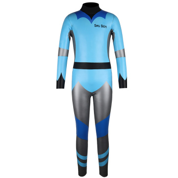 Combinaison de triathlon Seaskin 2mm Adventure Junior