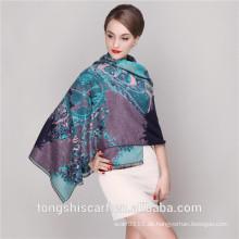 2016 Winter Pashmina Schal Schal mit gedruckt