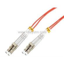 LC-LC multimode duplex fiber lead