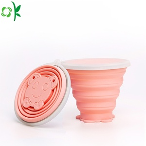 Nieuw product Portable Silicone Folding Cup te koop