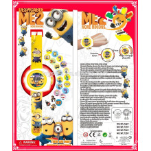 New design Minions Toys Projection watch hot new products