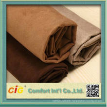 New Style 100% Polyester Micro Suede Fabric for Sofa