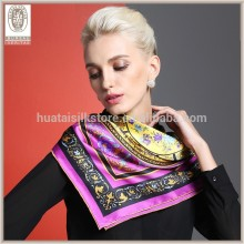 Factory Direct Wholesale Turkish Silk Scarf Wholesale China Silk Scarf