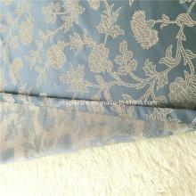 Tissu de rideau Jacquard à motifs floraux populaires européens