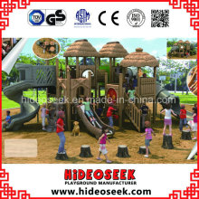 ASTM Standard Open Area Natural Color Plastic Outdoor Playground