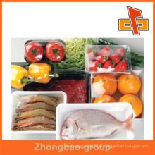 PE Stretch envoltório de embalagens de alimentos Rolos de filme com várias espessuras