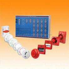 Fire Alarm Control Panel with Battery/Power Supply Fault Indicator