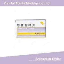 Amoxicilina em comprimidos