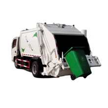 High quality Carriage Removable compressed rubbish vehicle Compactor Garbage Truck 16m3 to 18m3 to Africa Market