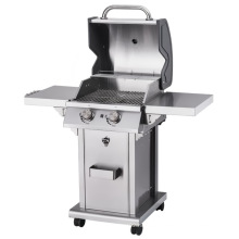 2 Burner Outdoor United Professional BBQ Gas Grill