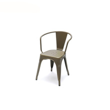 Replica Xavier Pauchard Stackable Tolix Metal Armchair