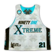 Personalizado Sublimación Reversible Lacrosse Jerseys