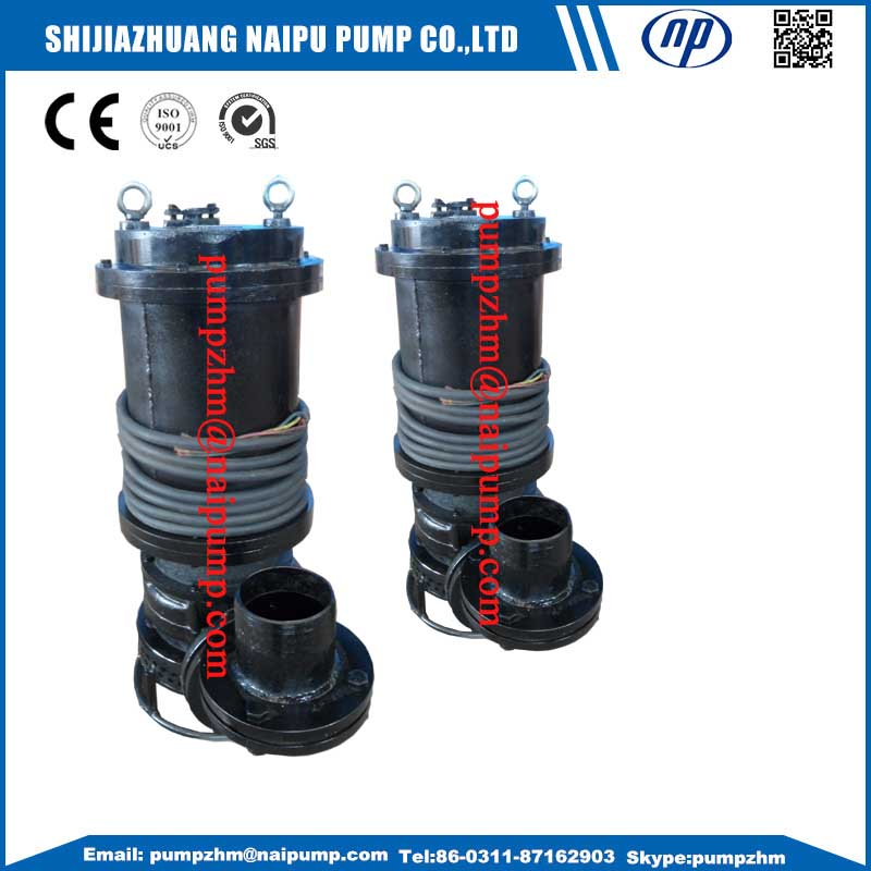 China submersible slurry pump with stirrer high quality for Waterproof submersible electric motors