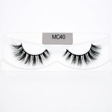 Topeye OEM Private Label Hot Sale 3D 5D 25mm Mink Eyelash with Customzied Package Boxes