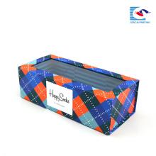 Cajas de regalo plegables de cartón hechas a medida de lujo para la ropa