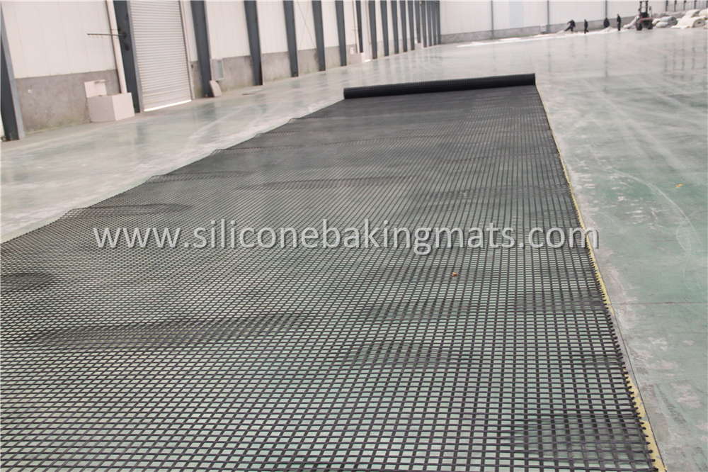 Uniaxial Pvc Coated Pet Geogrid