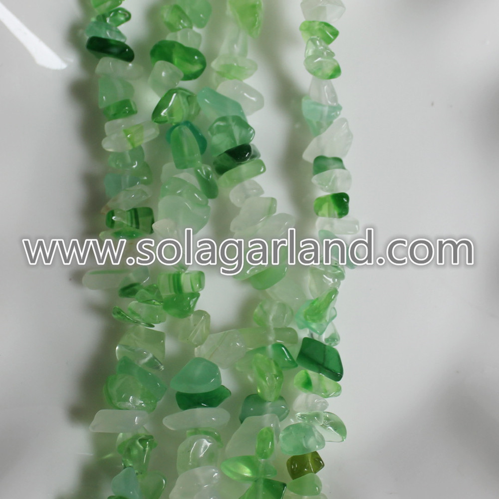 Natural Crystal Gemstone Beads